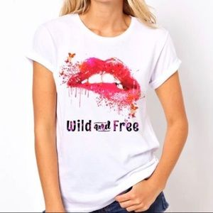 Wild and Free T-shirt, Large